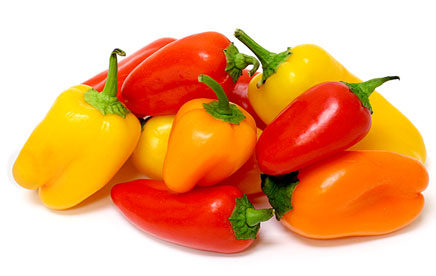 Mini Sweet Peppers (Organic)